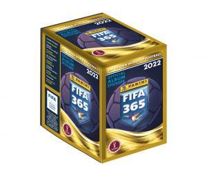Boite de 250 Stickers Panini FIFA 365 2022