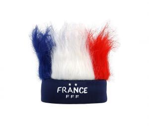 Bandeau Perruque FFF Bleu/Blanc/Rouge