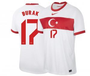 Maillot BURAK 17 Turquie Domicile 2021-2022