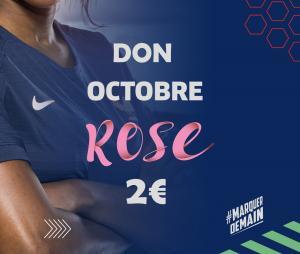Don pour Octobre Rose 2€