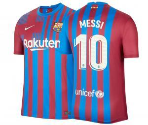 Maillot Domicile Barça Messi 2021/22
