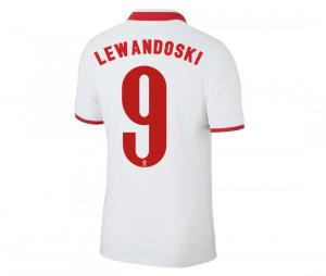 Maillot LEWANDOWSKI 9 Pologne Domicile EURO2020