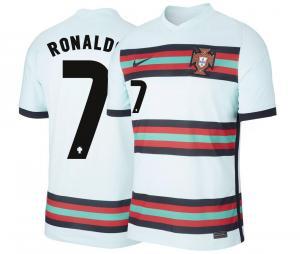 Maillot Portugal Extérieur Ronaldo 2021-2022 Junior
