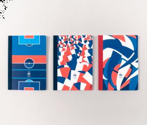 Carnet A5 - Papier Tigre x Equipe de France