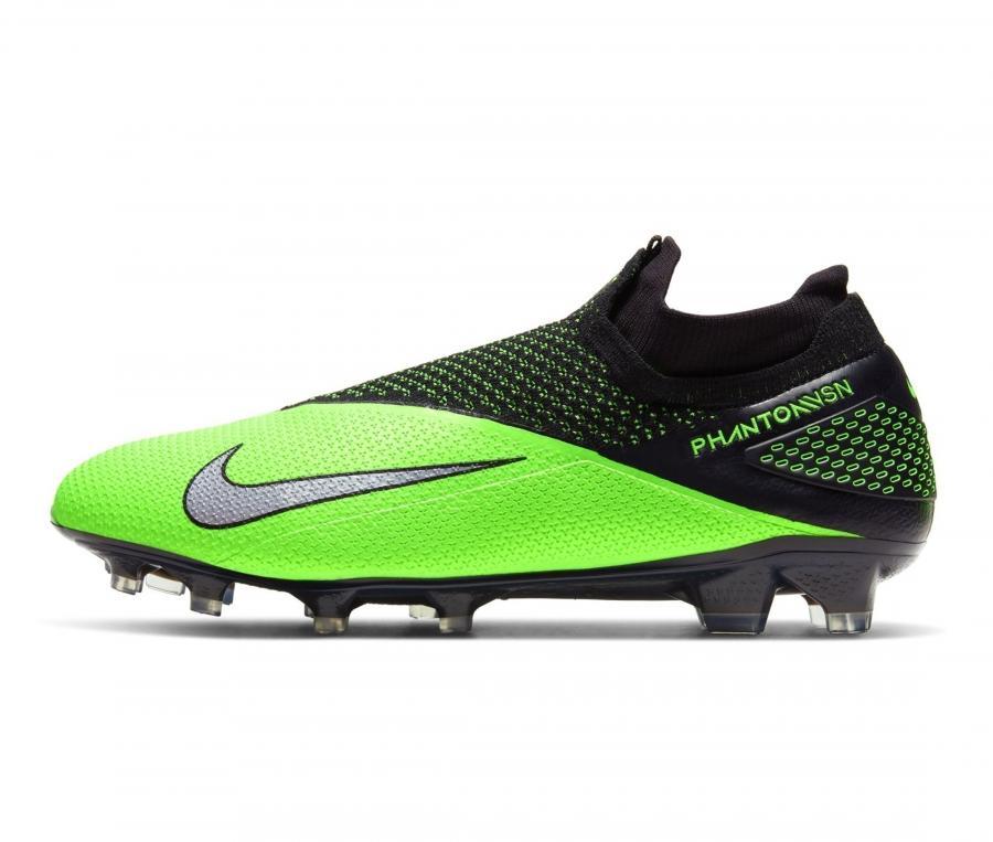 Nike Phantom Vision II Elite DF FG Vert/Noir