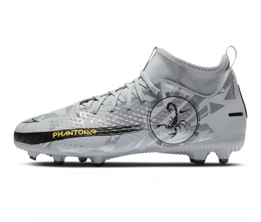 Nike Phantom GT Academy Dynamic Fit MG Gris Junior