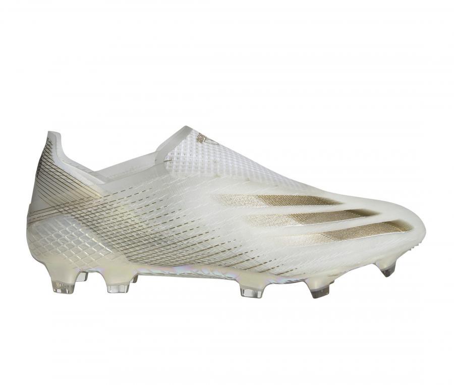 adidas X Ghosted + FG Blanc