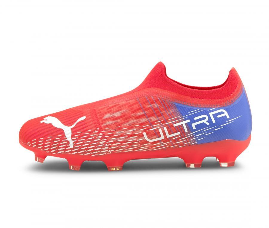 Puma Ultra 3.3 FG/AG Rouge Junior