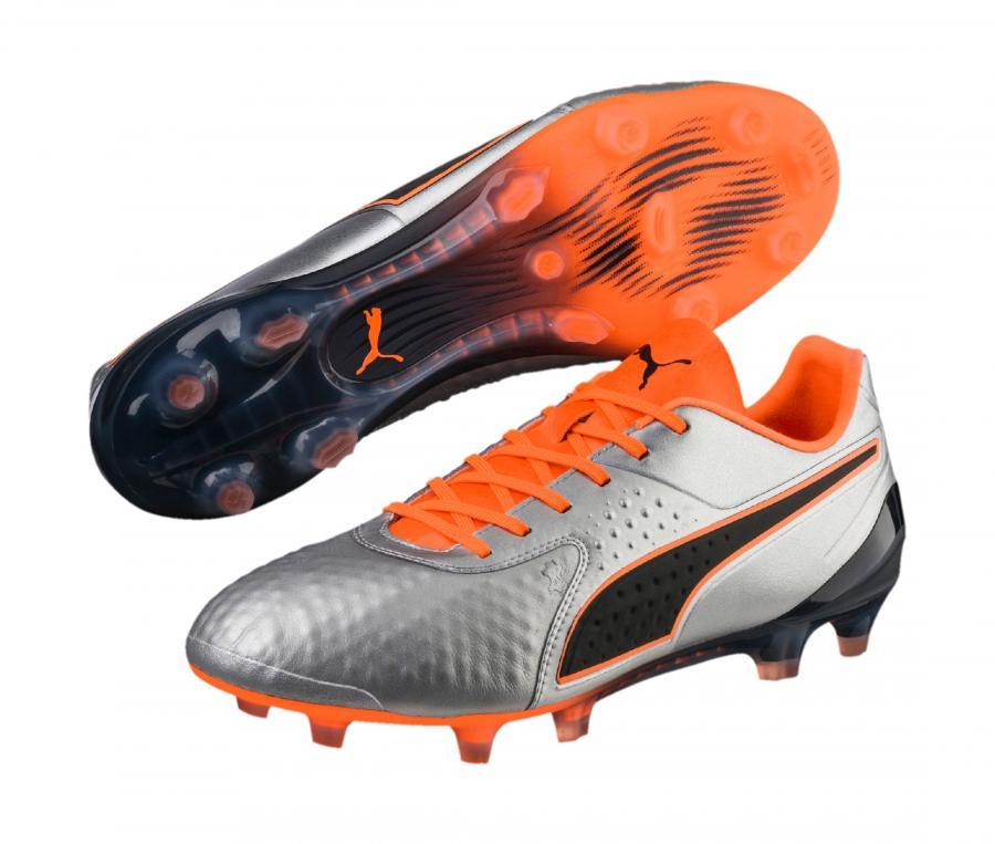 Puma One 1 Low FG/AG Gris/Orange