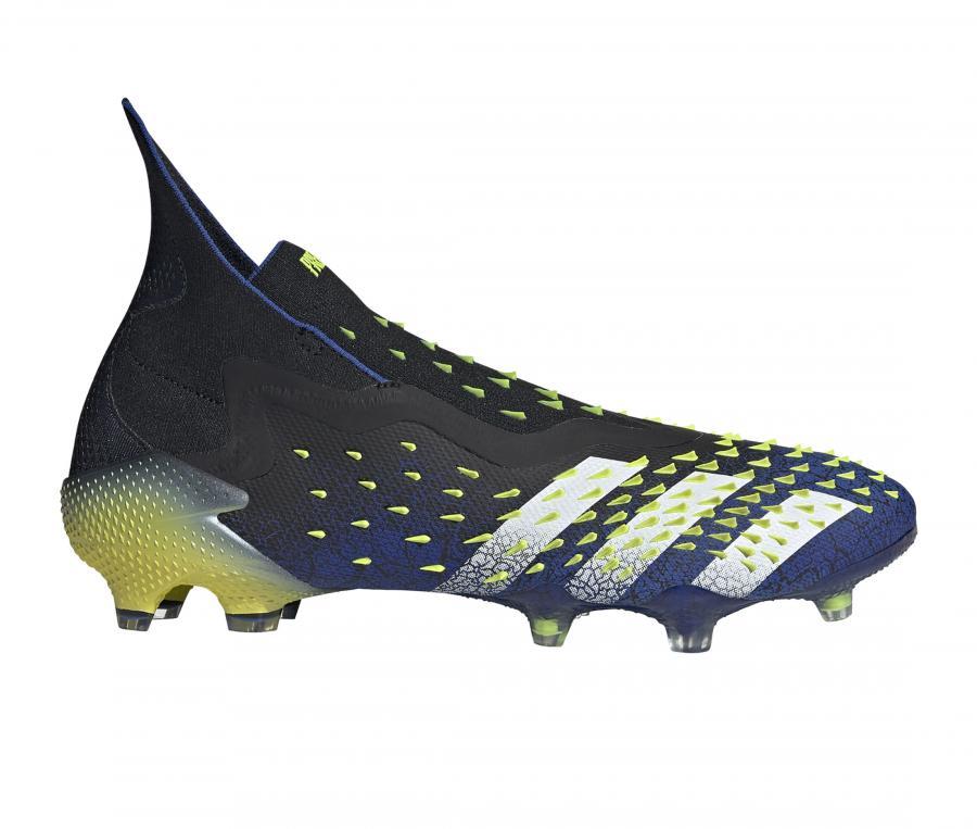 adidas Predator Freak + FG Noir/Bleu