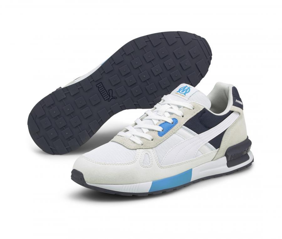 Puma OM Graviton Pro Blanco/Azul