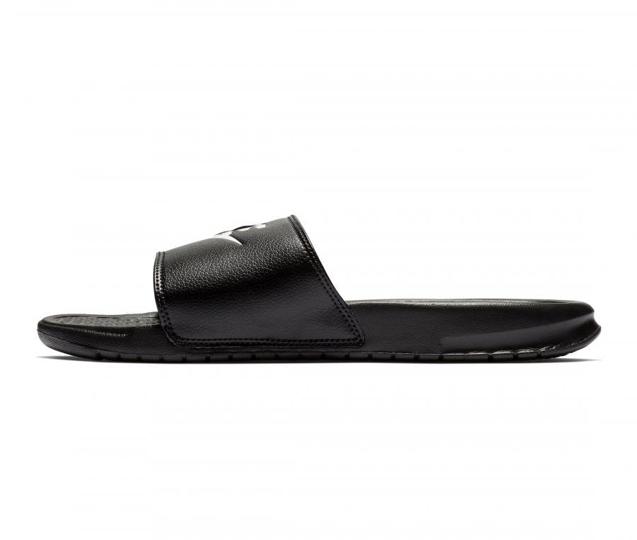 Sandales Nike Benassi Just Do It Noir