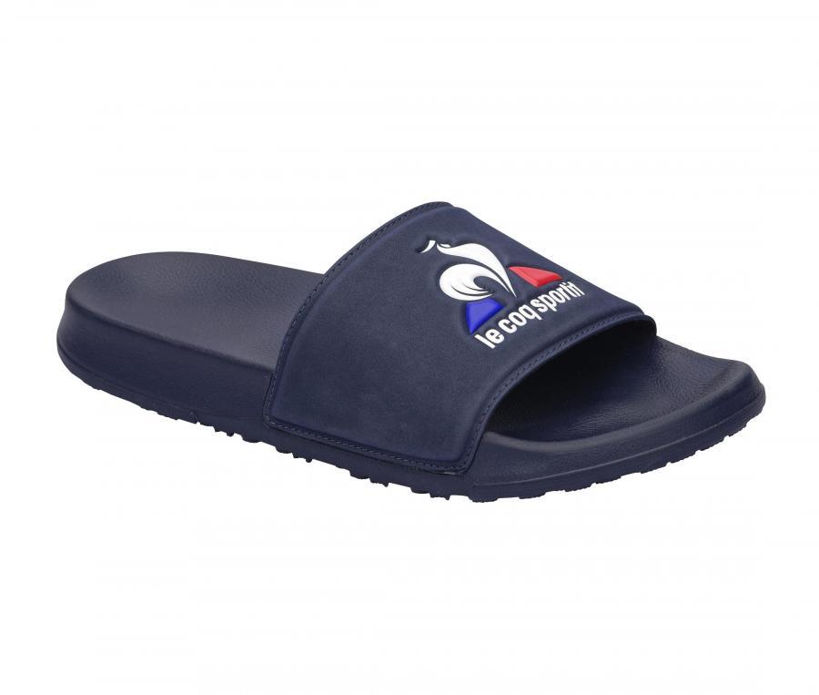 Sandale Le Coq Sportif Slide Logo Bleu
