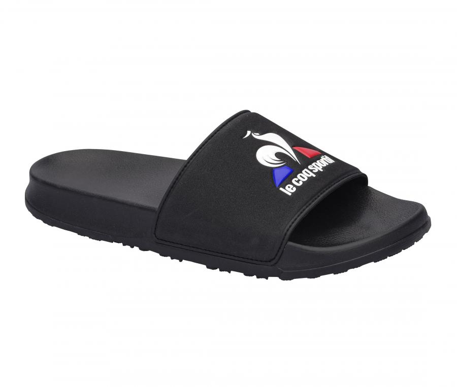 Sandale Le Coq Sportif Slide Logo Noir