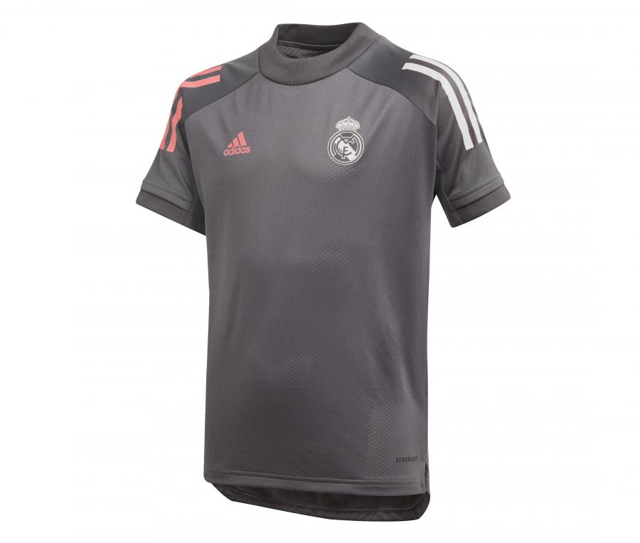 Maillot Entraînement Real Madrid Gris Junior