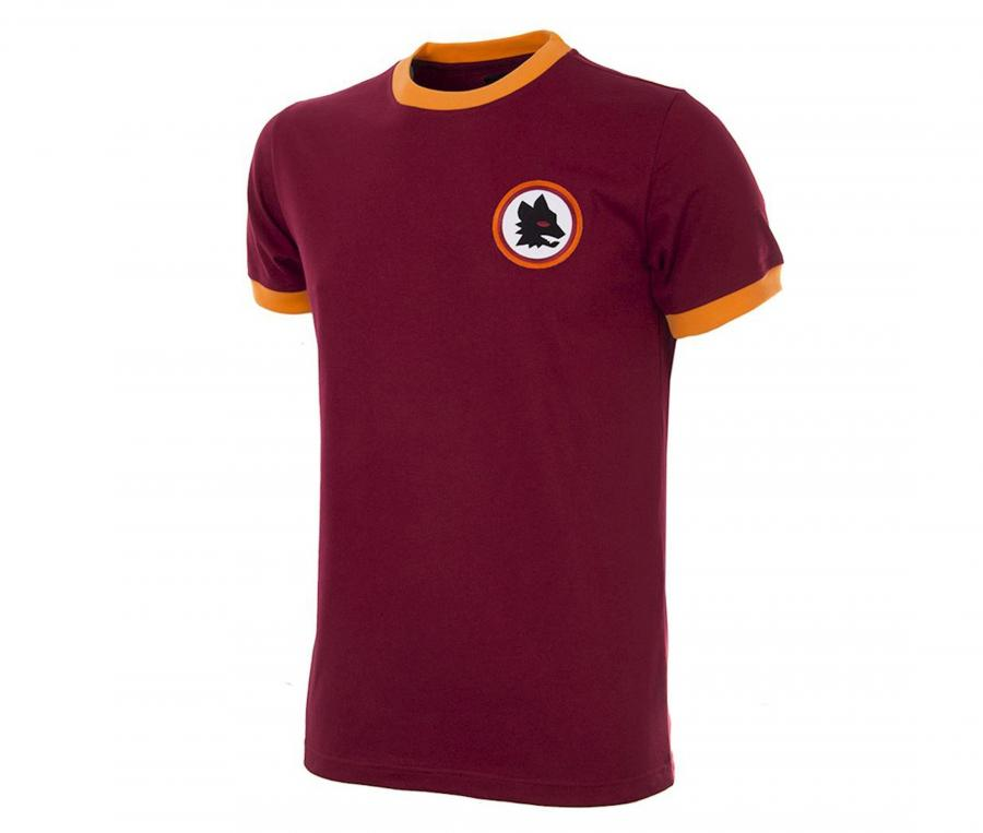 Maillot Vintage AS Roma 1978/79 Rouge