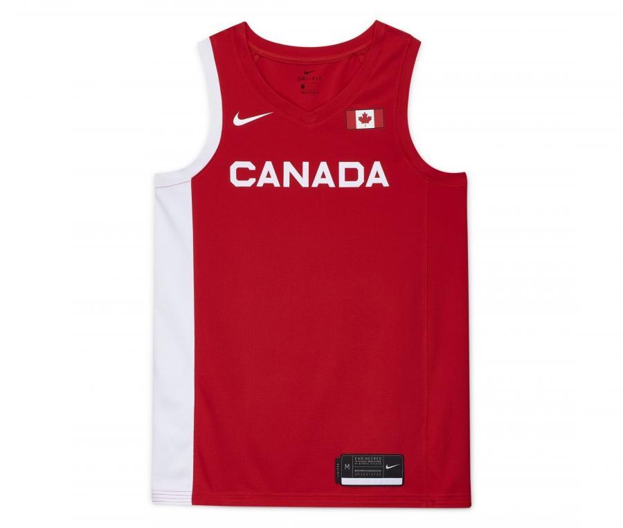 Maillot Canada Basket Domicile 2020/2021