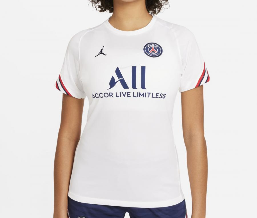 Maillot Entraînement Jordan x PSG Strike Blanc Femme