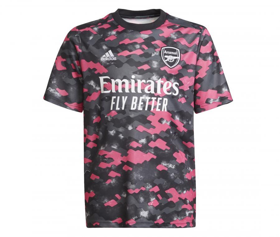 Mallot Pré-Match Arsenal Gris/Rose Junior