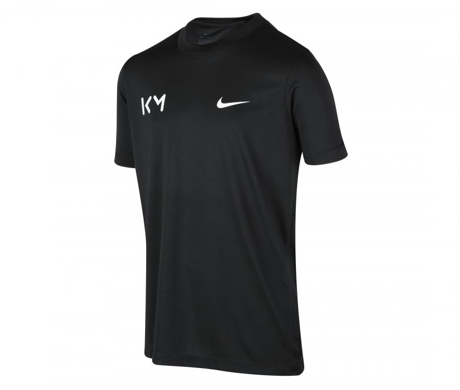 Maillot Nike Kylian Mbappé Noir Junior