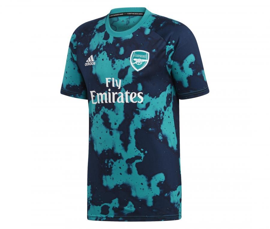 Maillot Pré-Match Arsenal Bleu/Vert