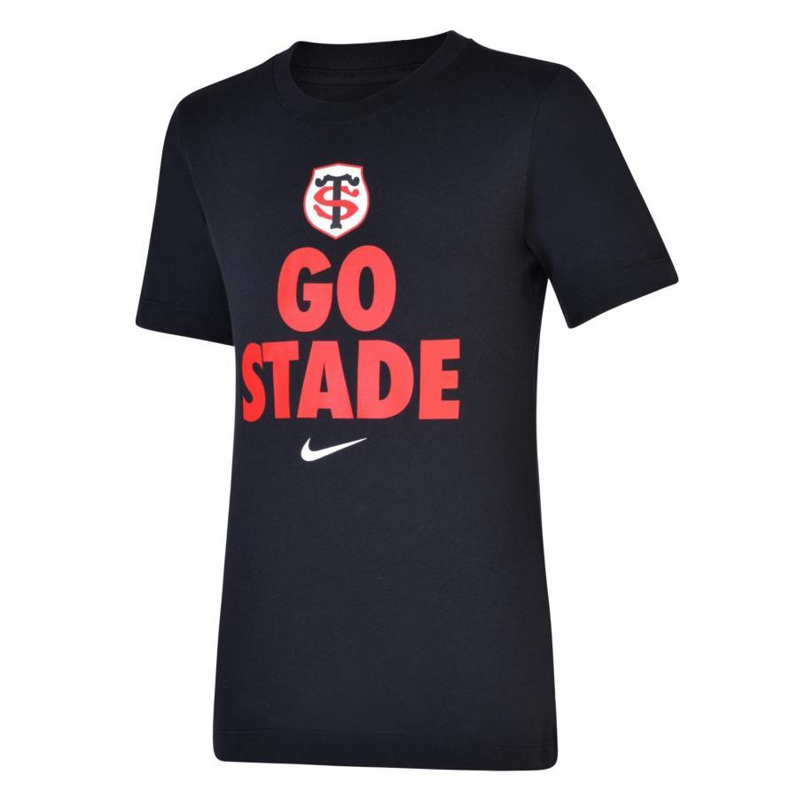 T-shirt Stade Toulousain Noir