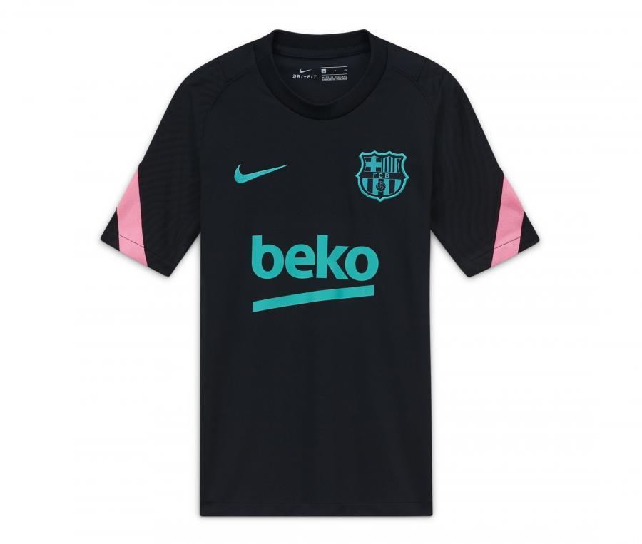 Maillot Entraînement Barça Strike Noir Junior
