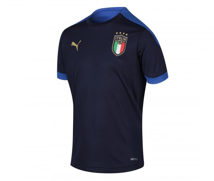 Maillot Entraînement Italie Bleu Junior