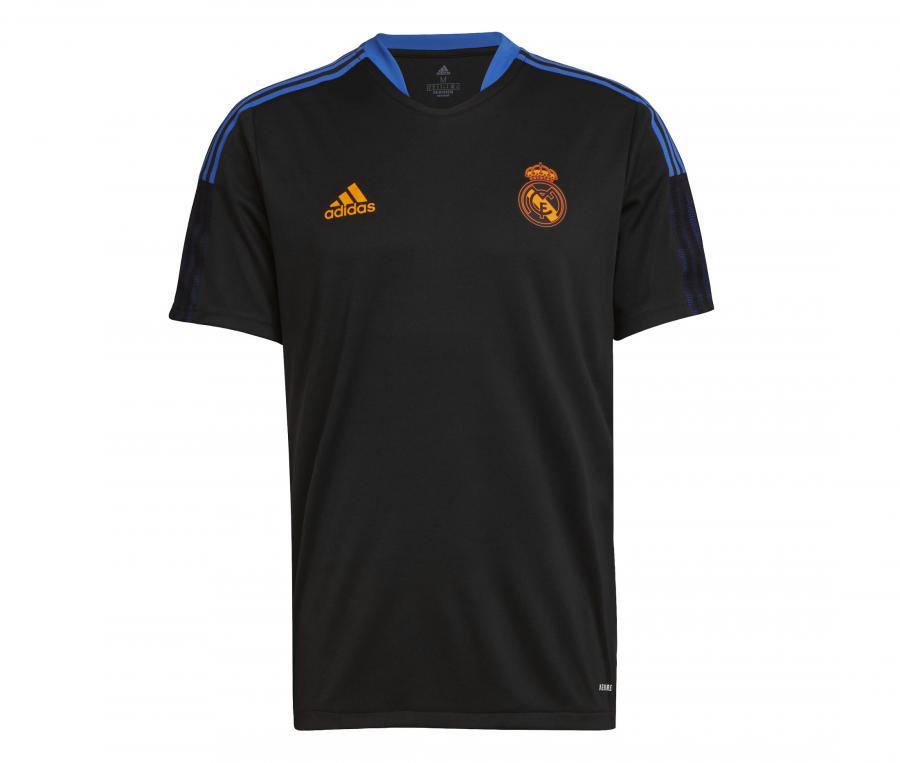 Maillot Entraînement Real Madrid Noir