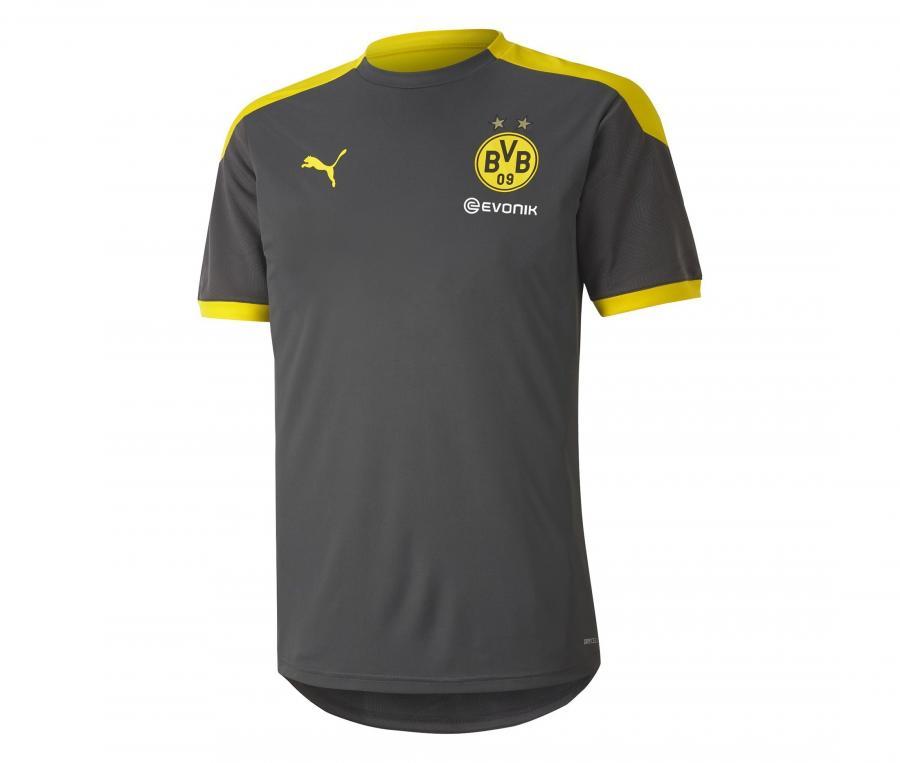 Maillot Entraînement Dortmund Gris/Jaune