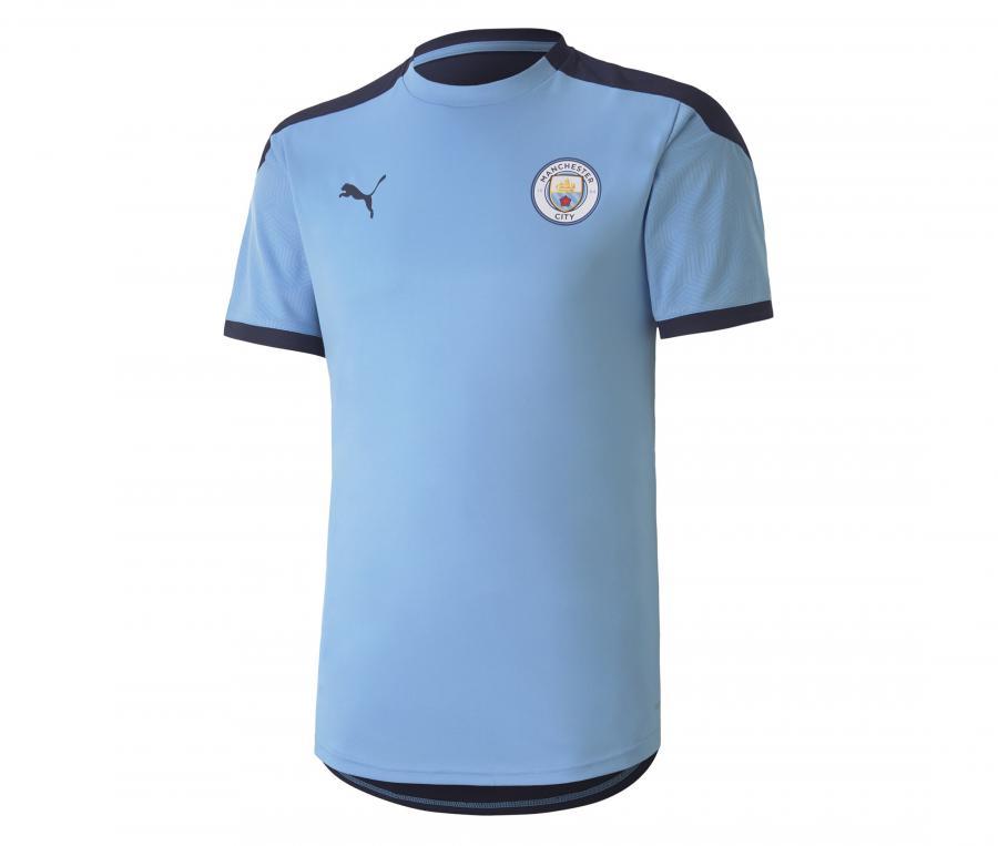 Maillot Entraînement Manchester City Bleu