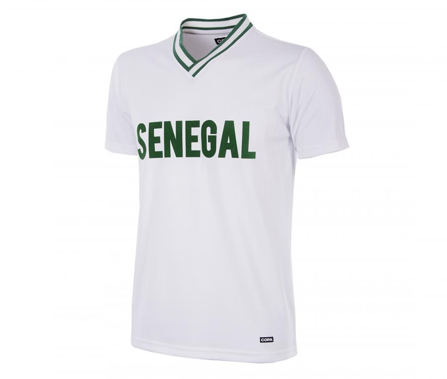 Maillot Vintage Sénégal 2000 Blanc