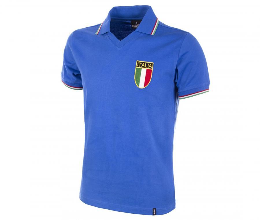 Maillot Vintage Italie 1982 Bleu