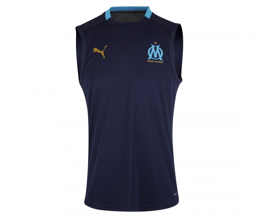 Camiseta sin manga OM Azul