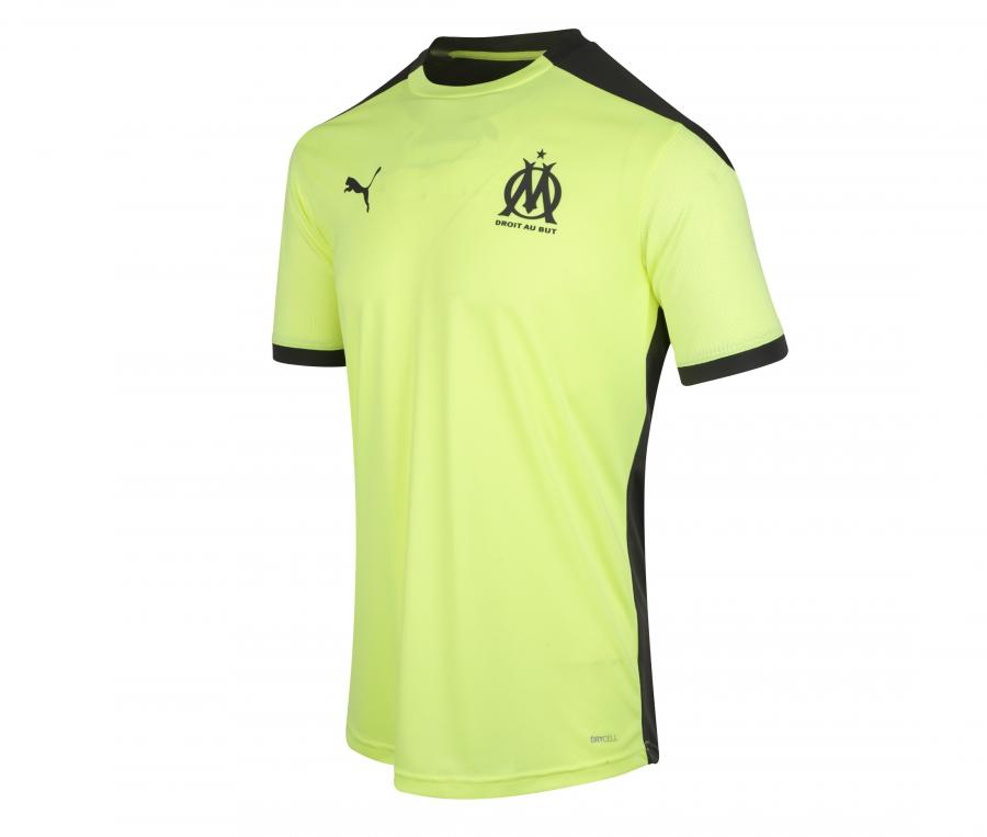 Camiseta de Entrenamiento OM Amarillo/Negro
