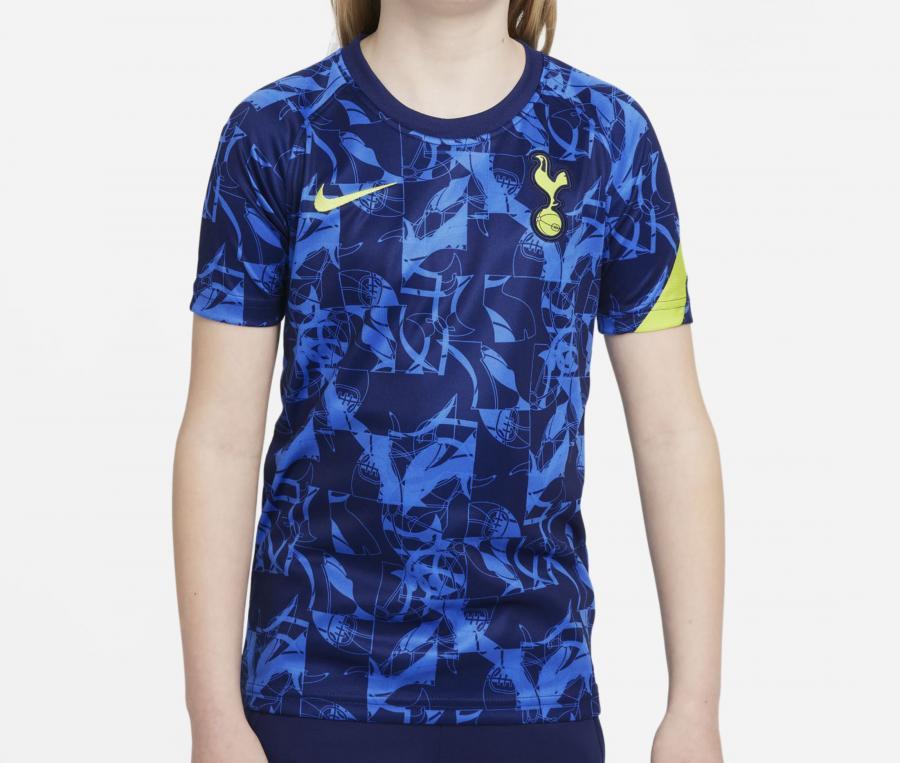 Maillot Pré-Match Tottenham Strike Bleu Junior