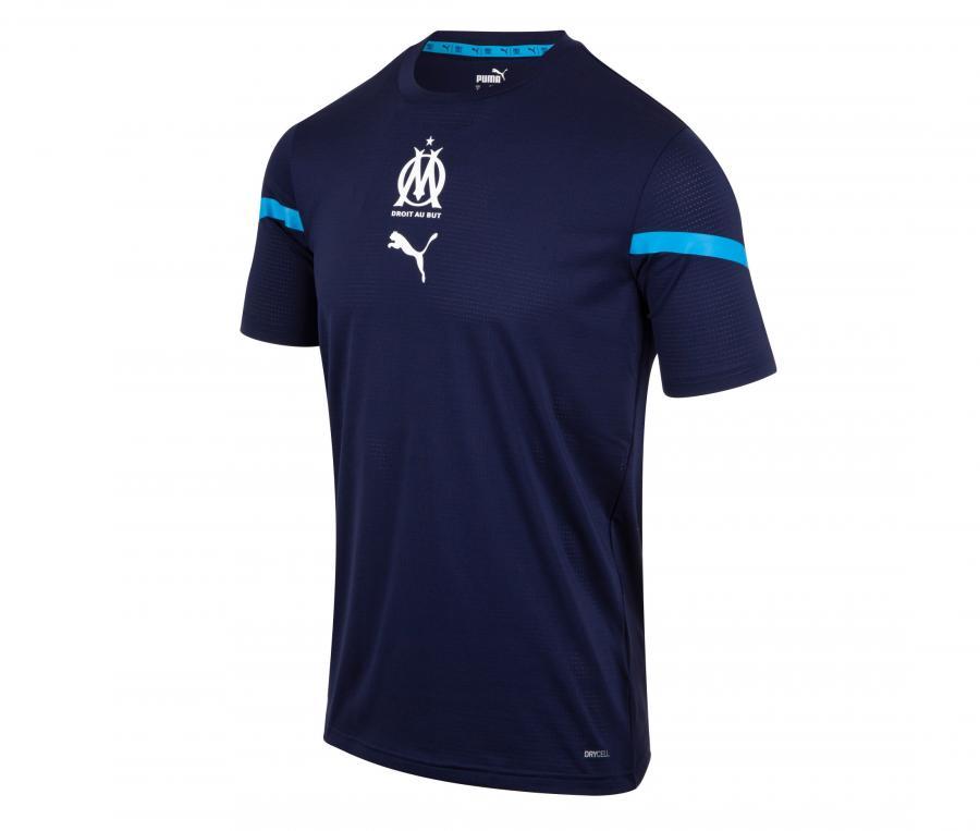 Maillot OM Pré-Match Bleu Junior