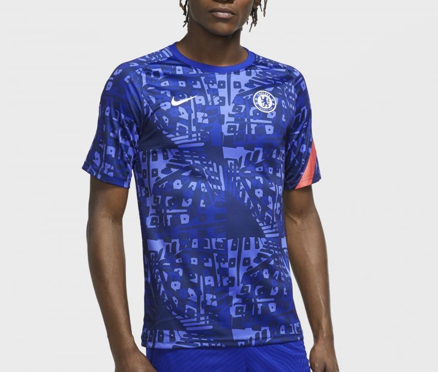 Maillot Pré-Match Chelsea Bleu