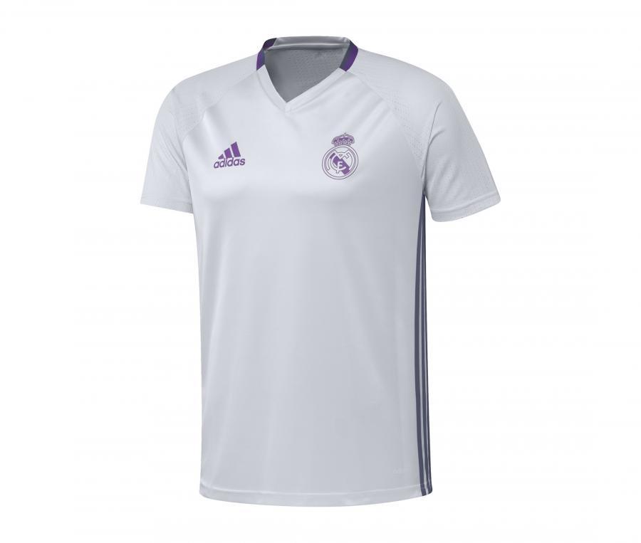 Maillot Entraînement Real Madrid Blanc Junior