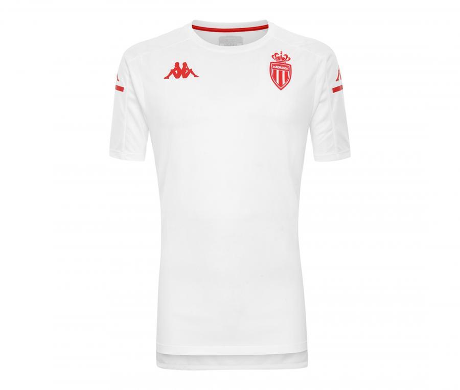 Maillot Entraînement AS Monaco Aboes Pro 4 Blanc