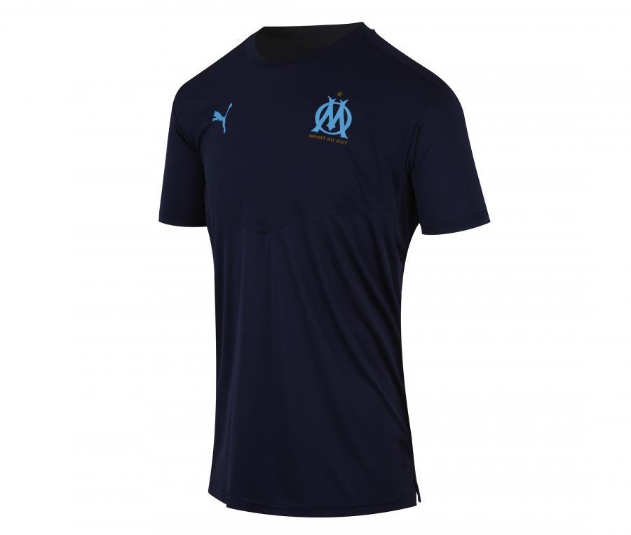 Camiseta de Entrenamiento OM Warm Up Azul