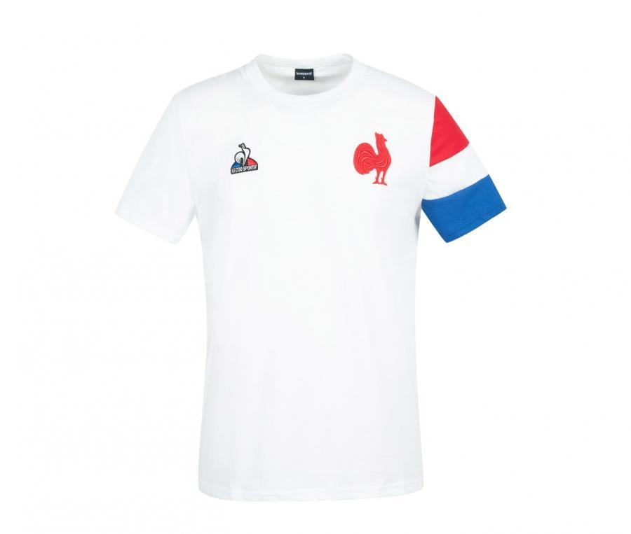 T-shirt Présentation FFR France Rugby Blanc