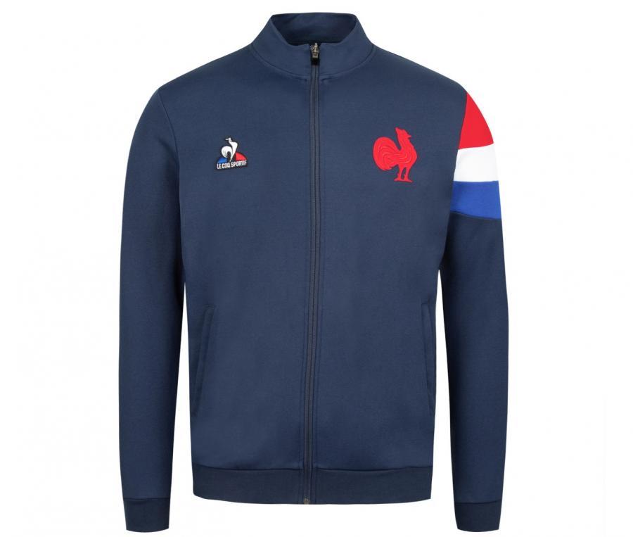 Veste Présentation FFR France Rugby Bleu