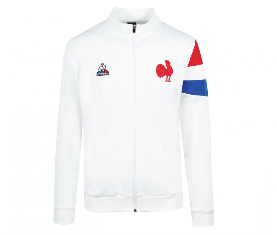 Veste Présentation FFR France Rugby Blanc