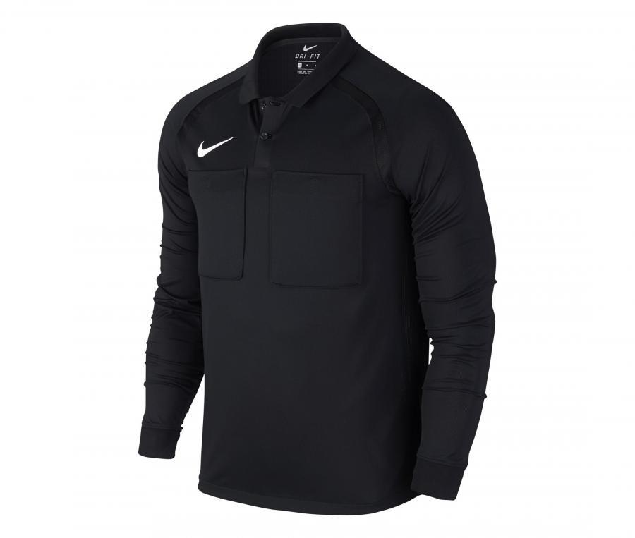 Maillot Nike Arbitre Manches Longues Noir