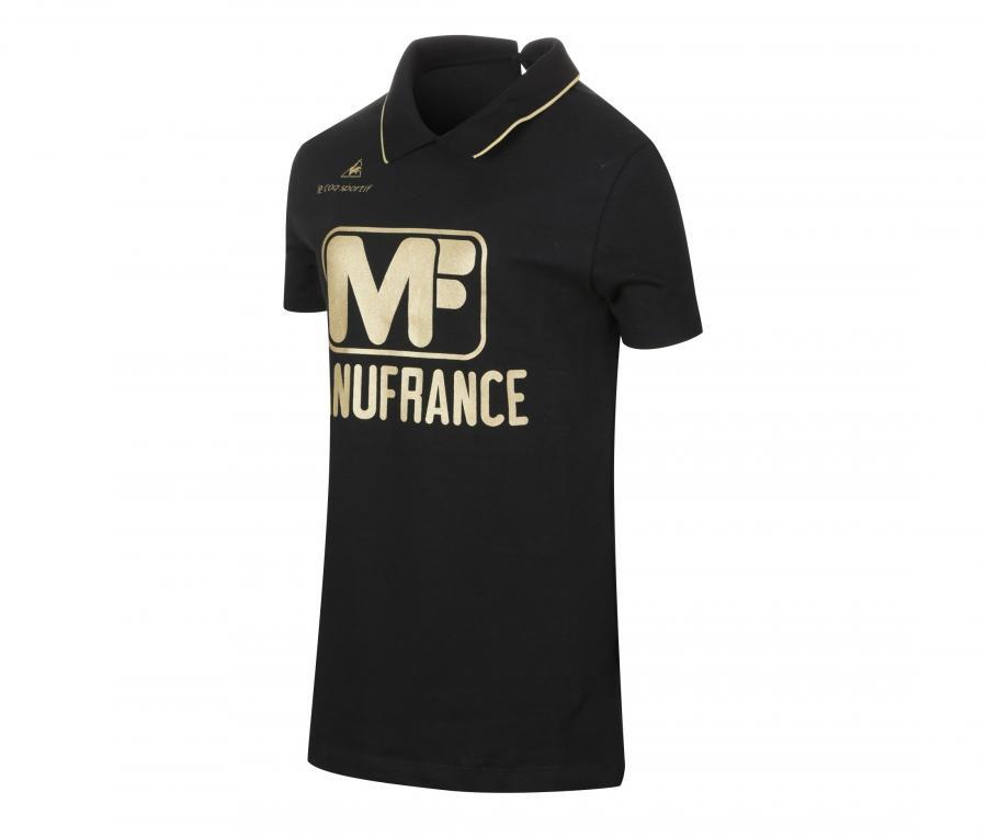 Polo AS Saint-Etienne Manufrance Noir Femme