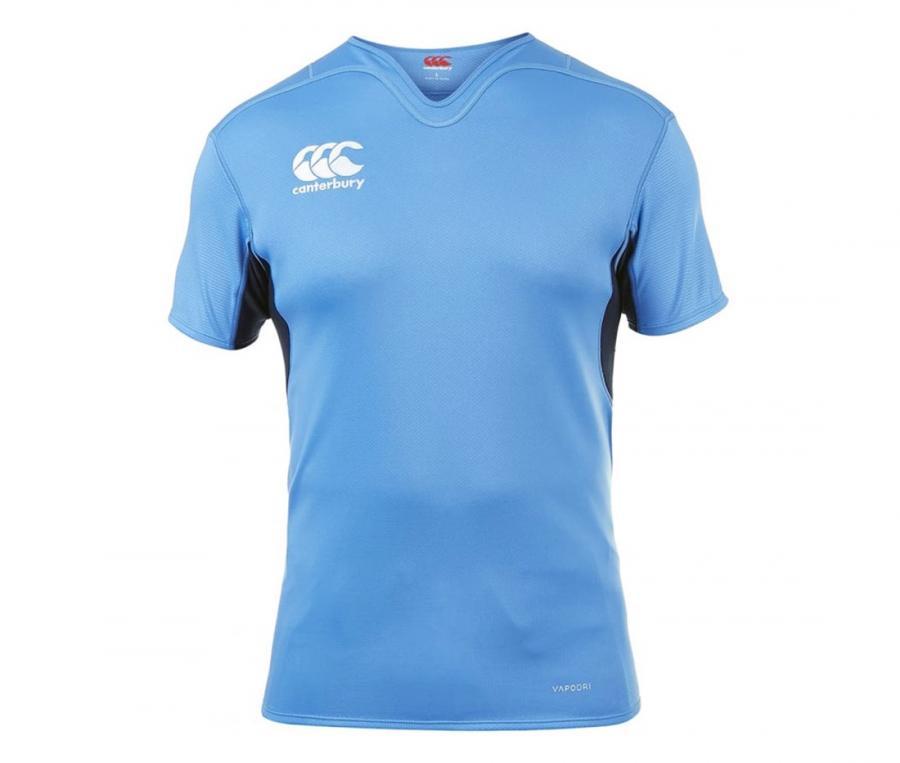 Maillot d'entraînement Canterbury Vapodri Challenge Rugby bleu