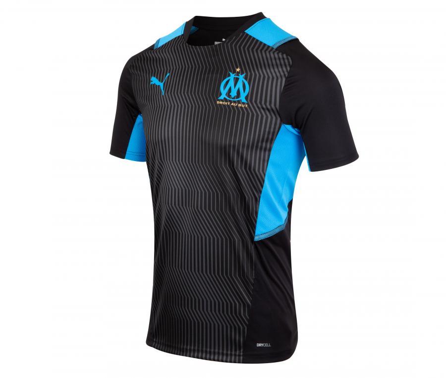 Camiseta de Entrenamiento OM Negro/Azul
