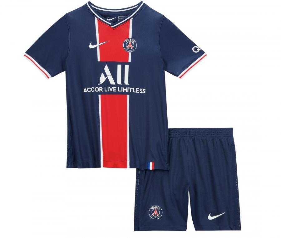 Mini Kit PSG Domicile 2020/2021 Junior