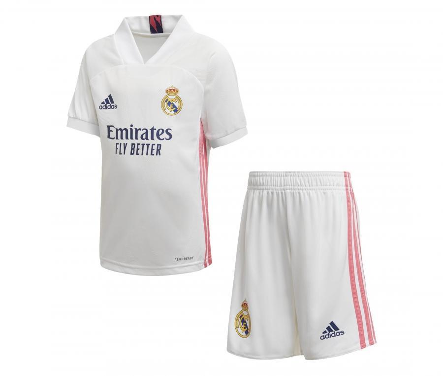 Mini kit Real Madrid Domicile 2020/2021